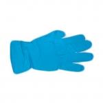 Перчатки нитриловые удлиненные (300мм), нестер, неопуд, текстур, голубые BENOVY 50 пар.
