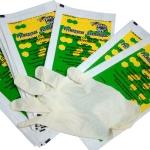 Перчатки смотровые латексные стерильные Русмедупак, размеры S,M,L