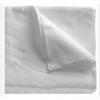 Салфетки в сложении из спанлейса цвет белый 30×30 пл.40гр/м2 50 шт/уп