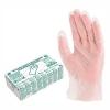 Перчатки виниловые бесцветные плотность 80мкм.