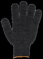 Перчатки ХБ 5 нитей, без ПВХ 7,5кл.(черные)