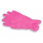 Перчатки смотр. нитрил. неопудр. текстур.высокоэластичные розовые, Arda 100 пар.