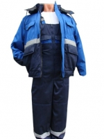 Костюм зимний (куртка + полукомбинезон)