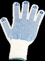 Перчатки ХБ 6 нитей, с ПВХ 10кл.