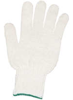 Перчатки ХБ 6 нитей, без ПВХ 7,5кл.