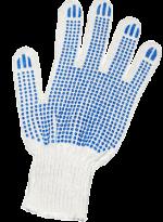 Перчатки ХБ 7 нитей, с ПВХ 7,5кл.