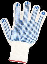 Перчатки ХБ 4 нити, c ПВХ 7,5кл.