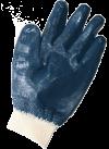Перчатки нитриловые обливные с трикотажной манжетой