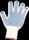 Перчатки ХБ 4 нити, с ПВХ 10кл.