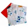 Салфетки в сложении из бязя, ситца, цветные 40×40